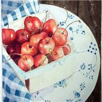 又到了吃樱桃的季节 森系静物意