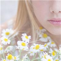 这个世界有花有你 森系清新美女