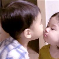心动就对了 可爱萌系小孩情侣头像